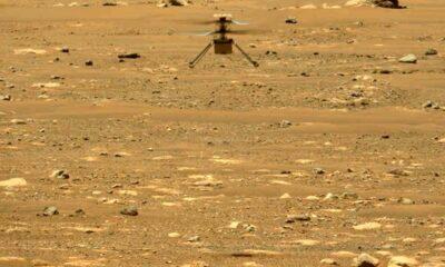 helikopter hangja a Marson